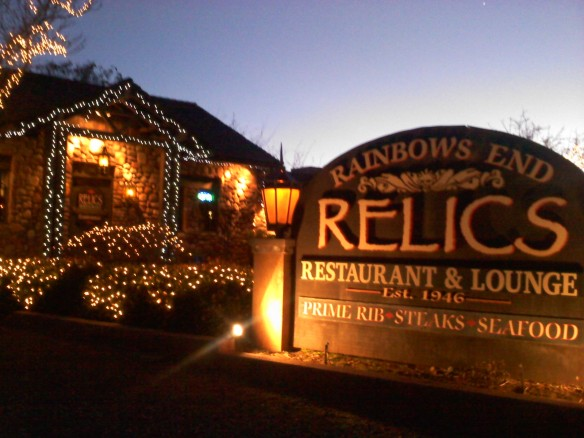 Relics restaurant and lounge