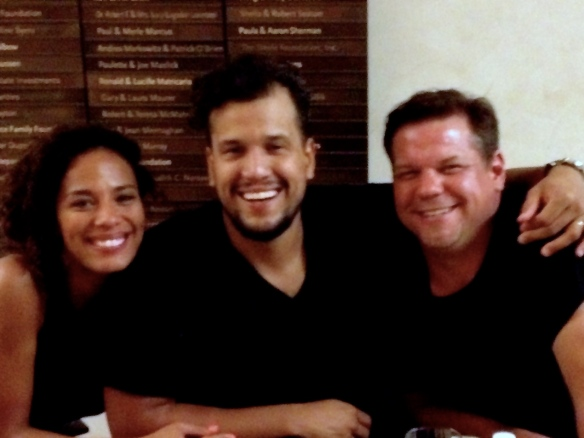 Myself with Johnnyswim