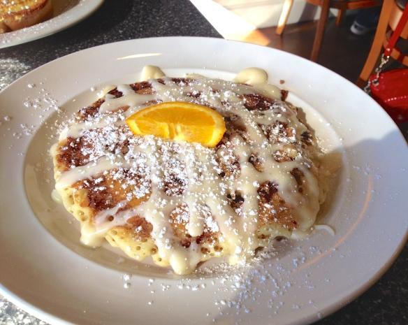 Sin-a-mon Roll Pancake